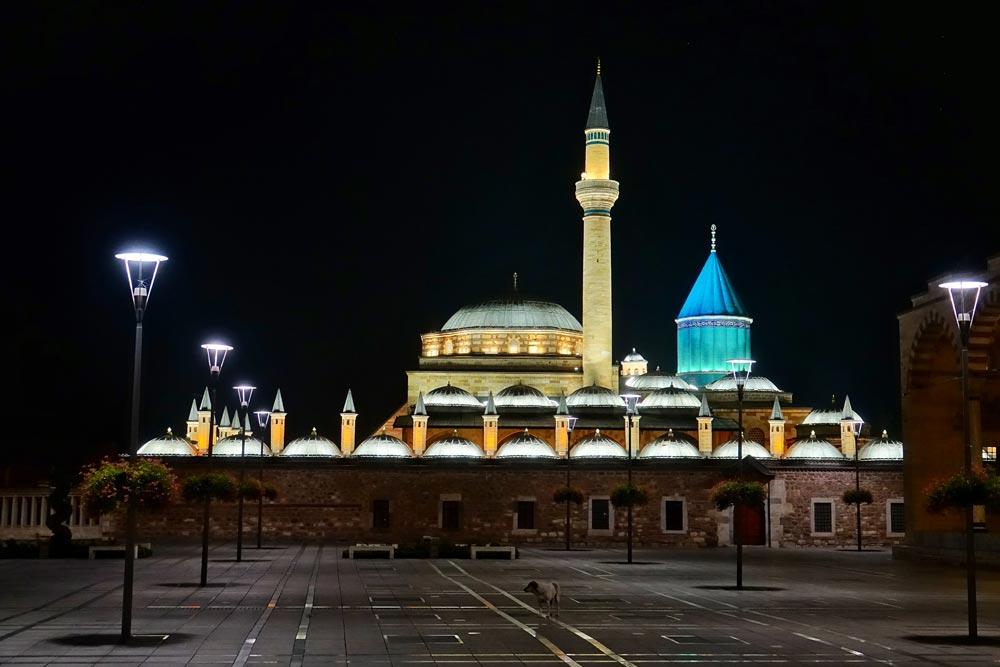 قونیه مقبره مولانا