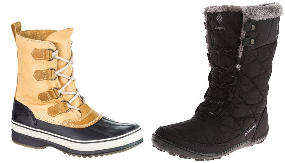 کفش مناسب مناطق قطبی و سردسیر