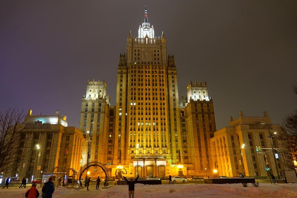 ساختمان های استالینی مسکو - ساختمان های هفت خواهران