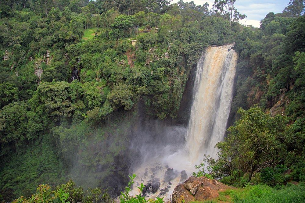 آبشار تامسون سفرنامه کنیا