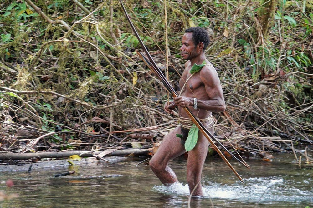شکارچیان قبیله آدم خواران