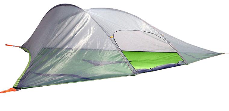 چادر معلق - چادر کمپ در جنگل