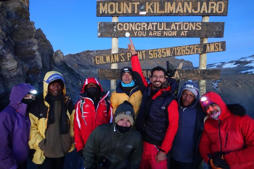 بر فراز قله کلیمانجارو