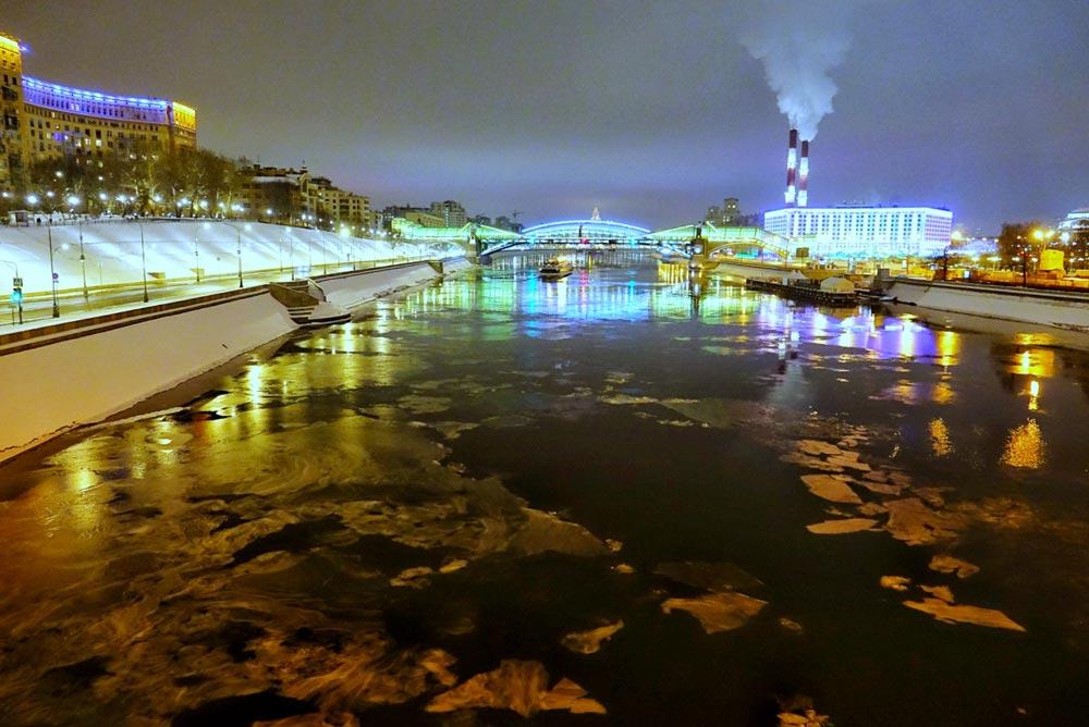 رودخانه یخزده مسکوا