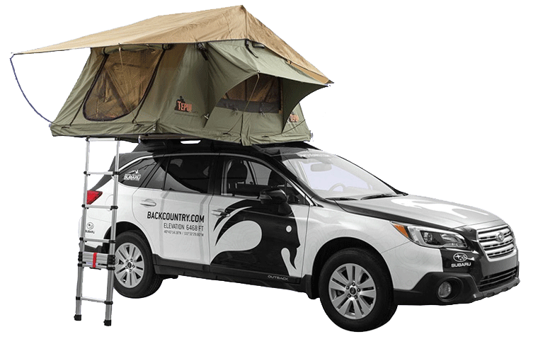 چادر سقفی - چادر روی سقف ماشین