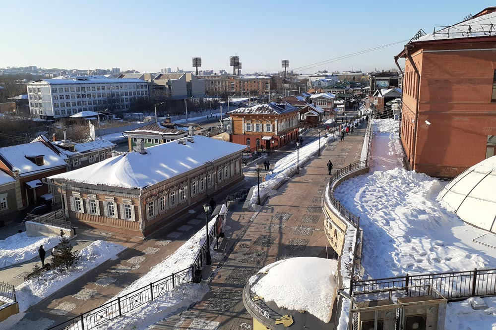 بافت تاریخی ایرکوتسک - سیبری