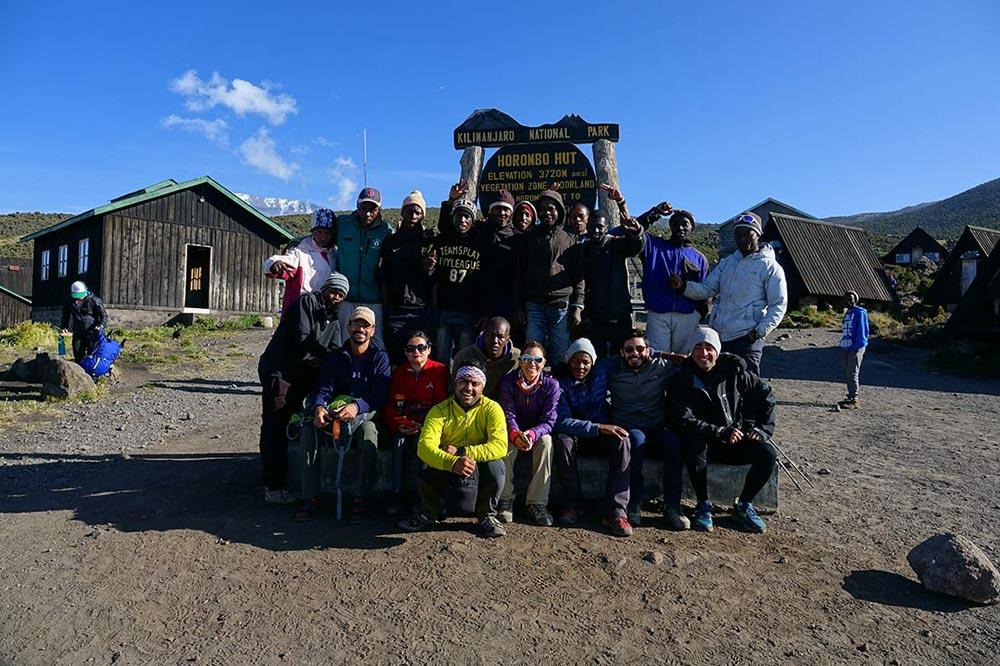 تیم صعود به کلیمانجارو