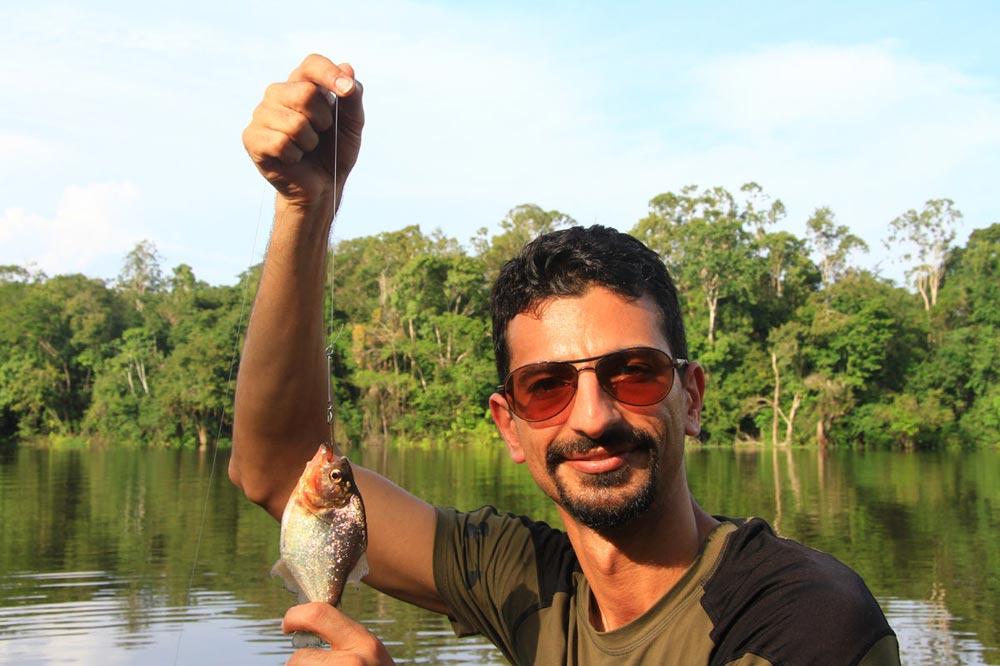 صید ماهی پیرانا