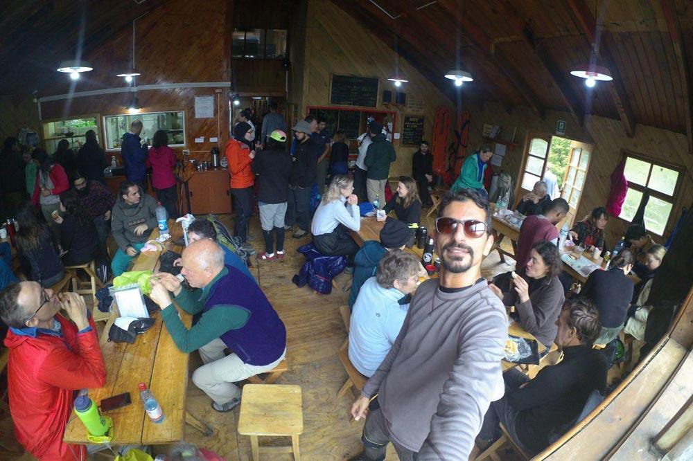 کوهپیمایی در یخچال های پاتاگونیا شیلی