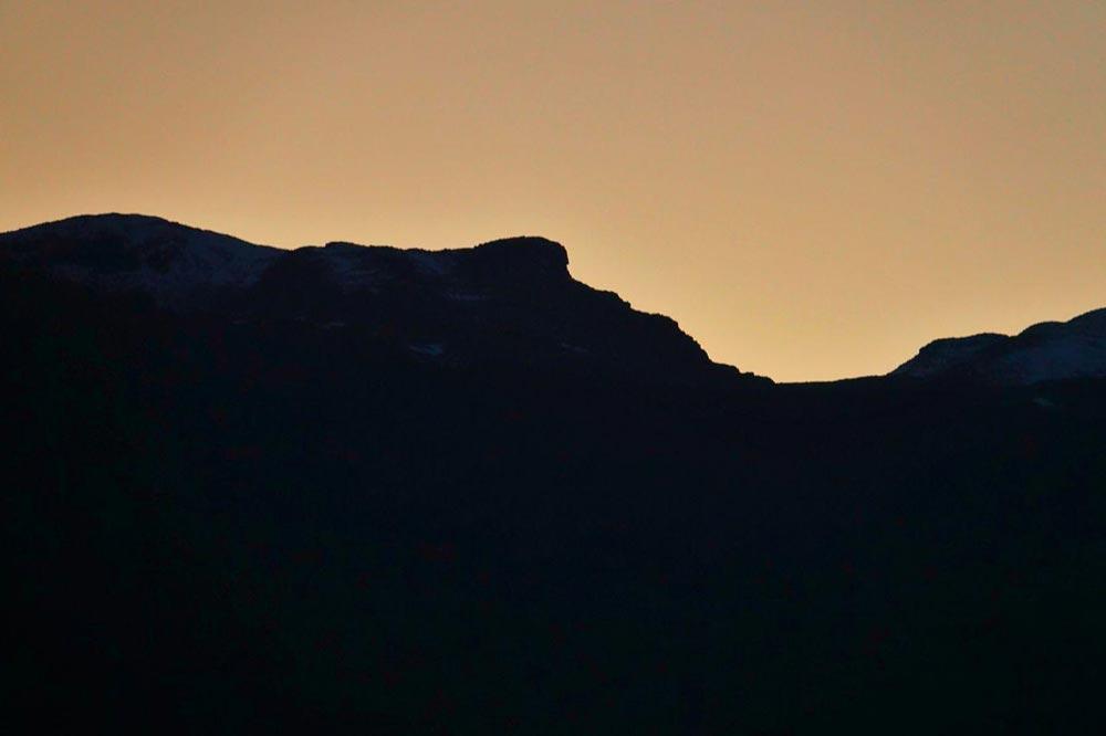 کوه شبیه چهره انسان - سفرنامه شیلی