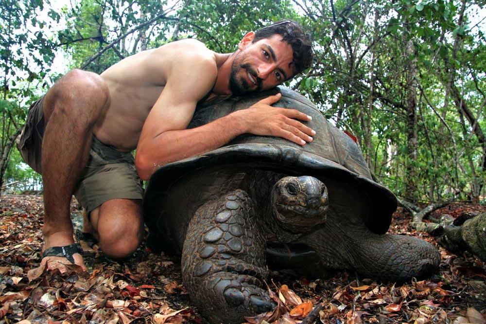 لاکپشت های دریایی غول پیکر