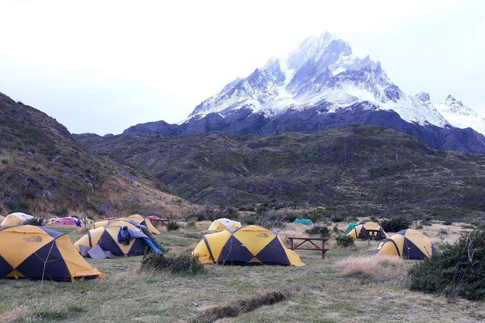 کمپ سایت در شیلی - پاتاگونیا
