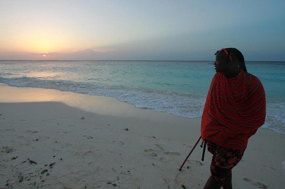 غروب آفتاب در زنگبار آفریقا