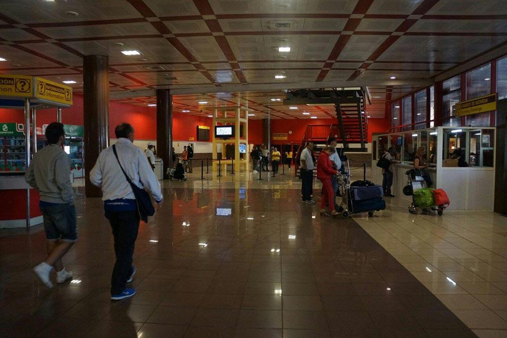فرودگاه هاوانا - سفرنامه کوبا