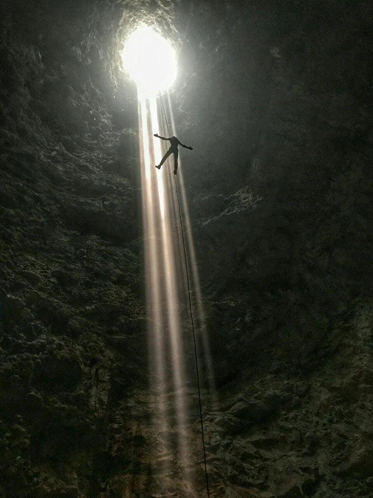 غار نوردی با یومار در مکزیک