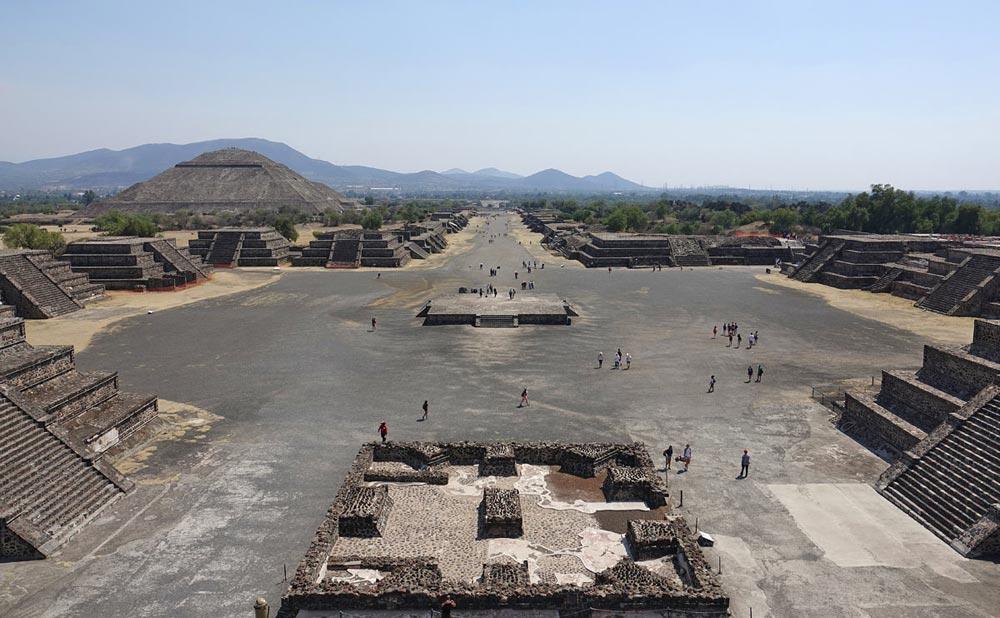 معبد تمدن های باستانی مکزیک