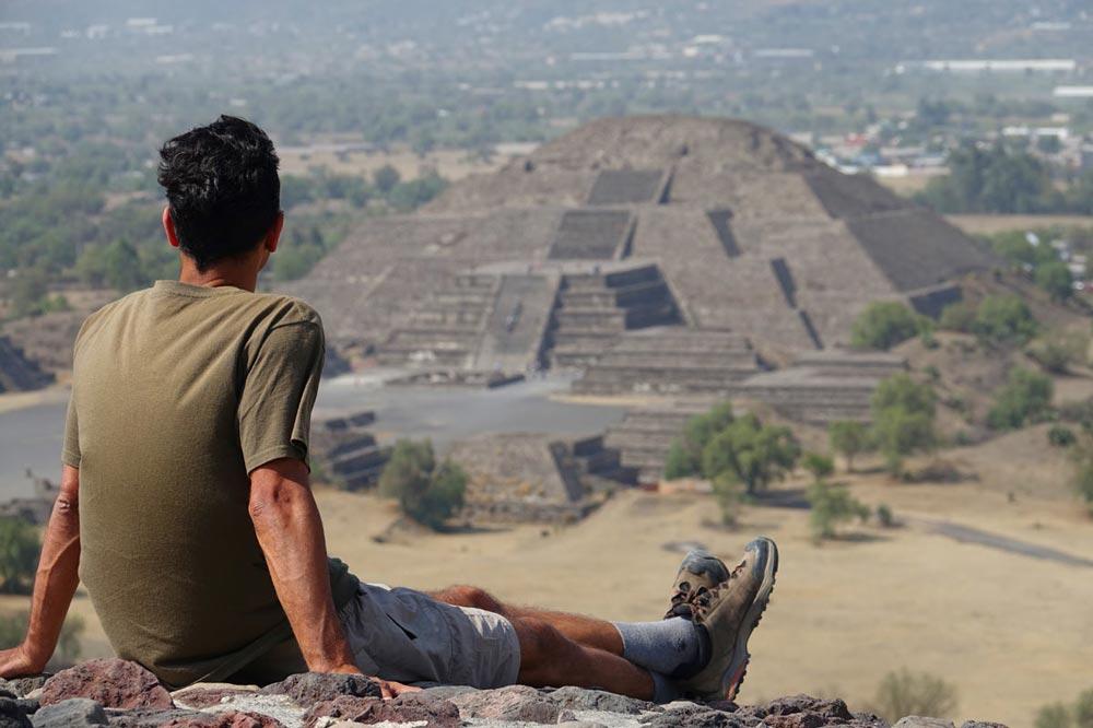 هرم عطیم مکزیک ، معبد تئوتیهوآکان