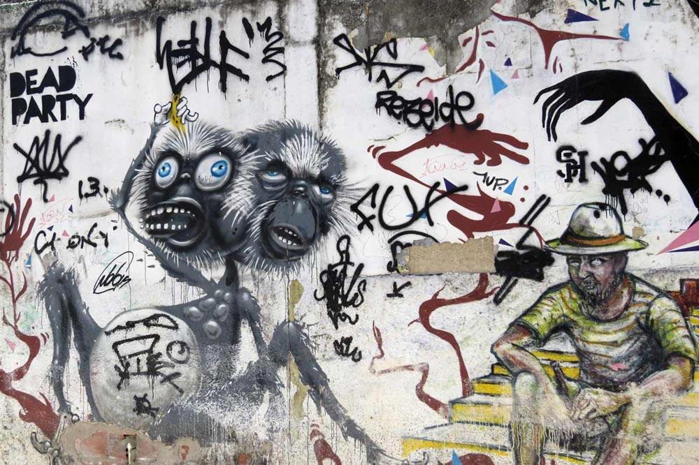 گرافیتی آمریکای جنوبی