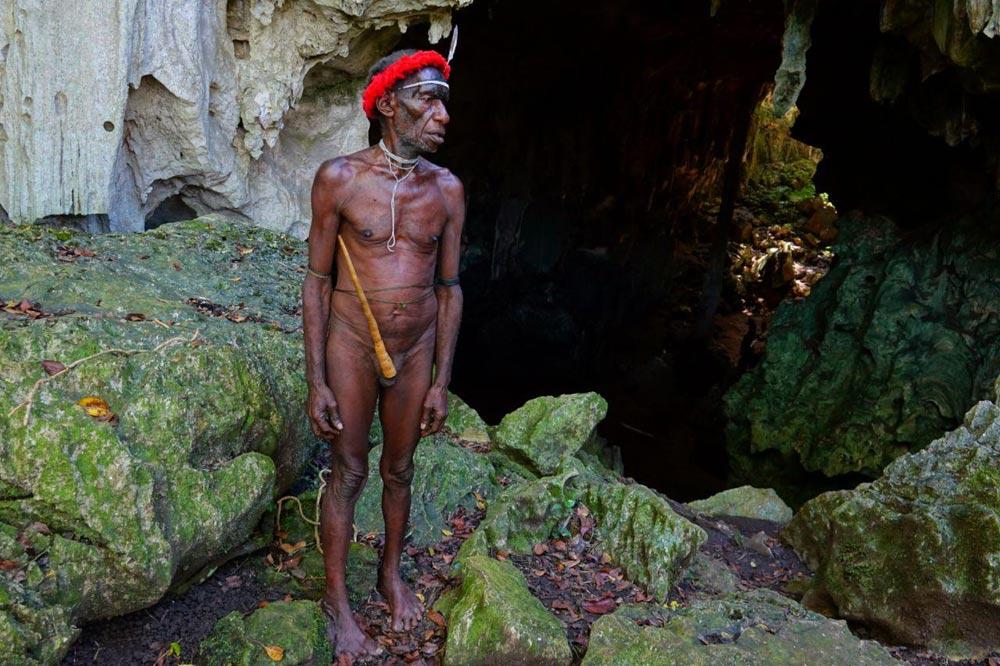 غار مردمان بدوی