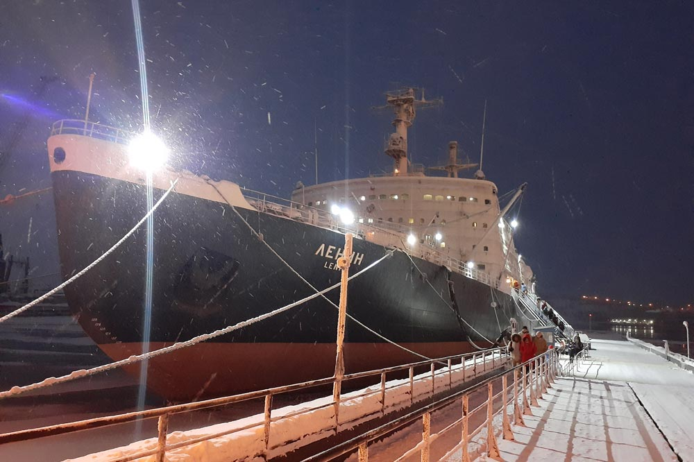 کشتی یخ شکن روسیه