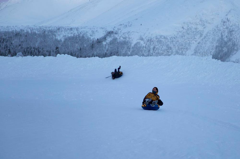 سفرنامه شفق قطبی روسیه