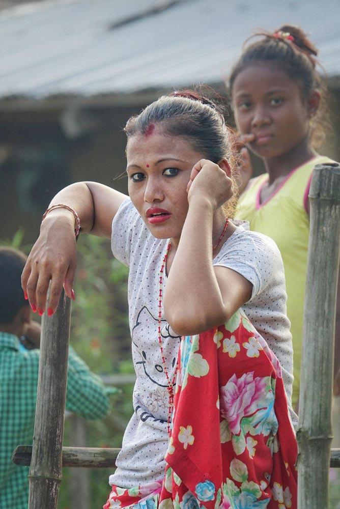 روستای تارو در چیتوان نپال