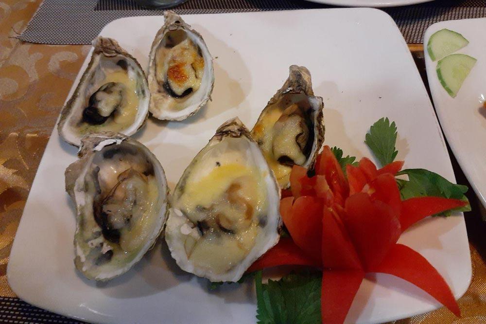 غذاهای دریایی - سفرنامه ویتنام