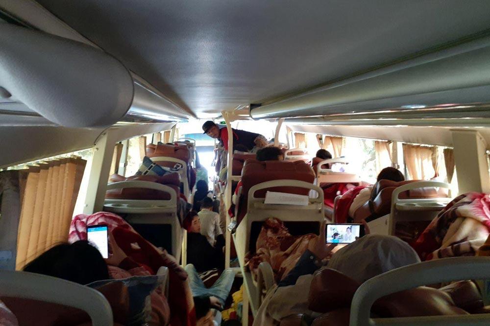 اتوبوس محلی ویتنام