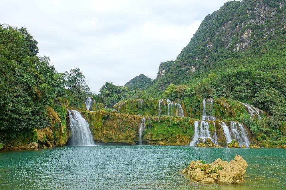 بزرگترین آبشار ویتنام