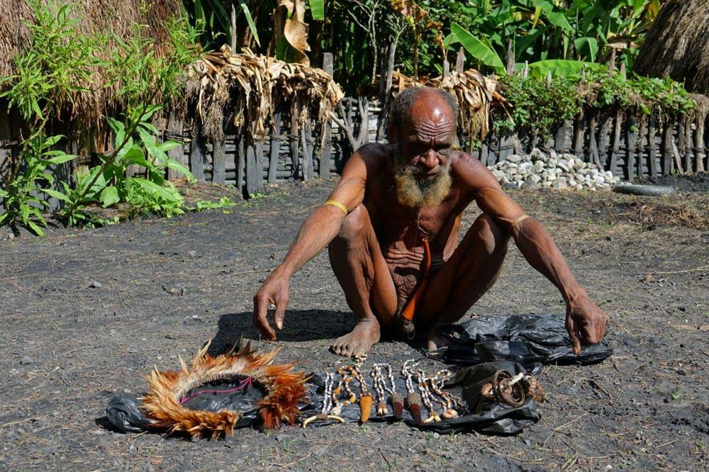 صنایع دستی مردم بومی پاپوآ