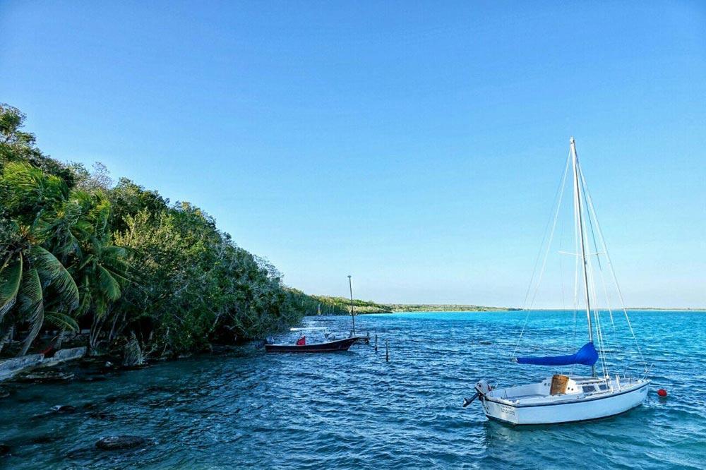 دریاچه باکالار سفرنامه مکزیک