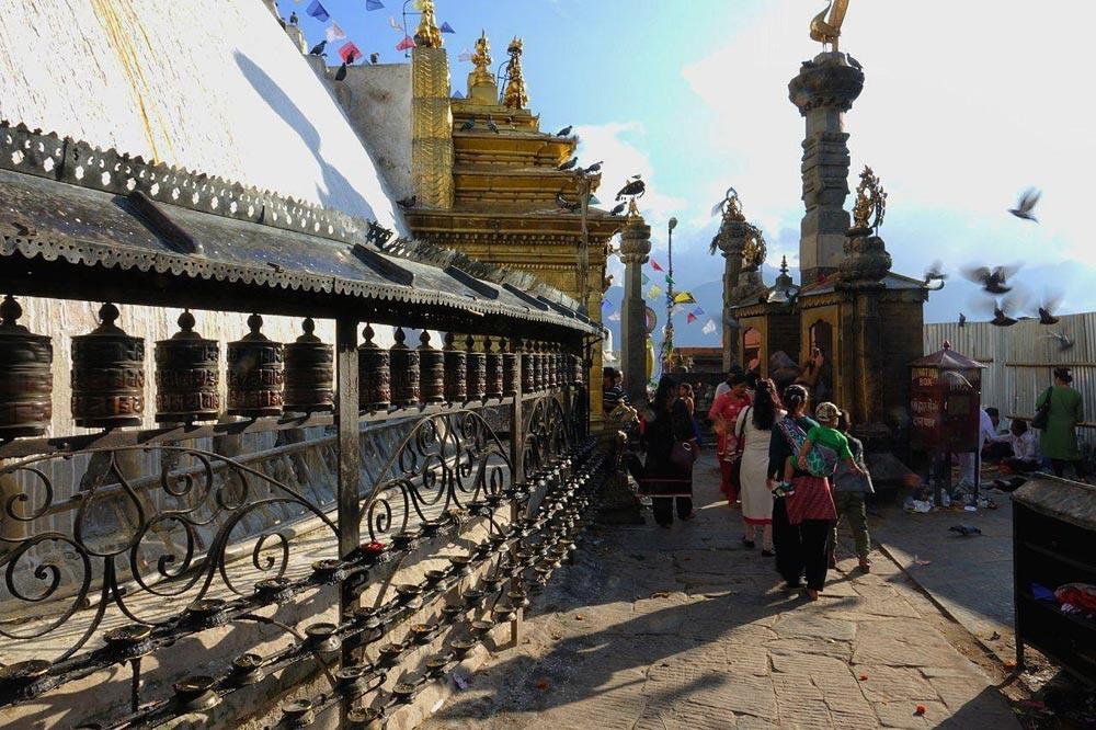 معبد میمون ها تور نپال
