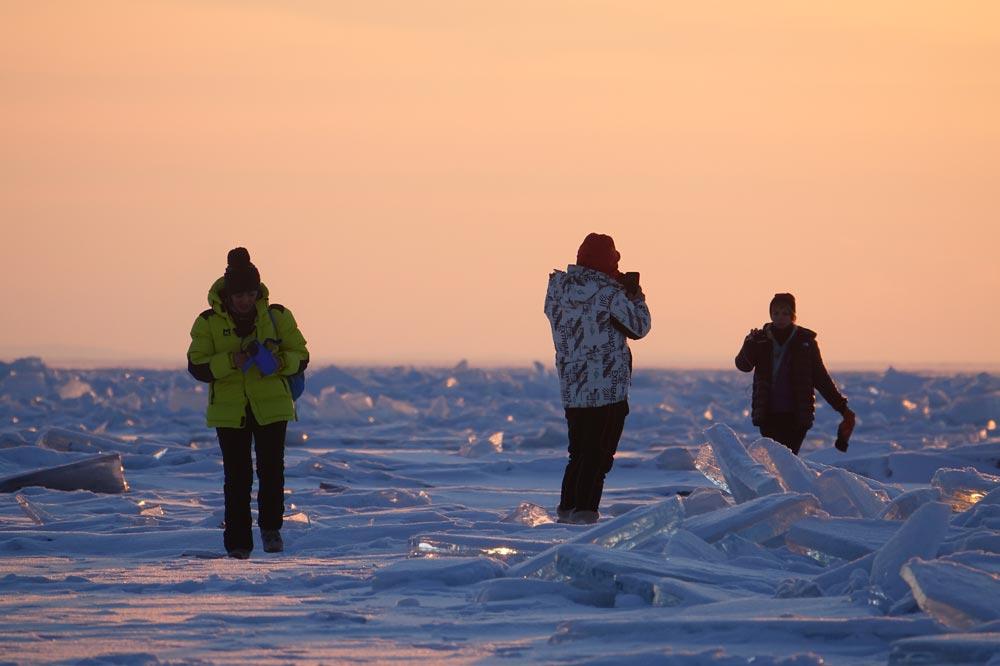 یخ های دریاچه بایکال