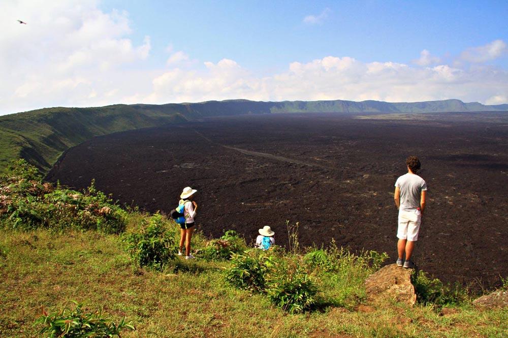 دهانه آتشفشانی جزیره ایزابلا