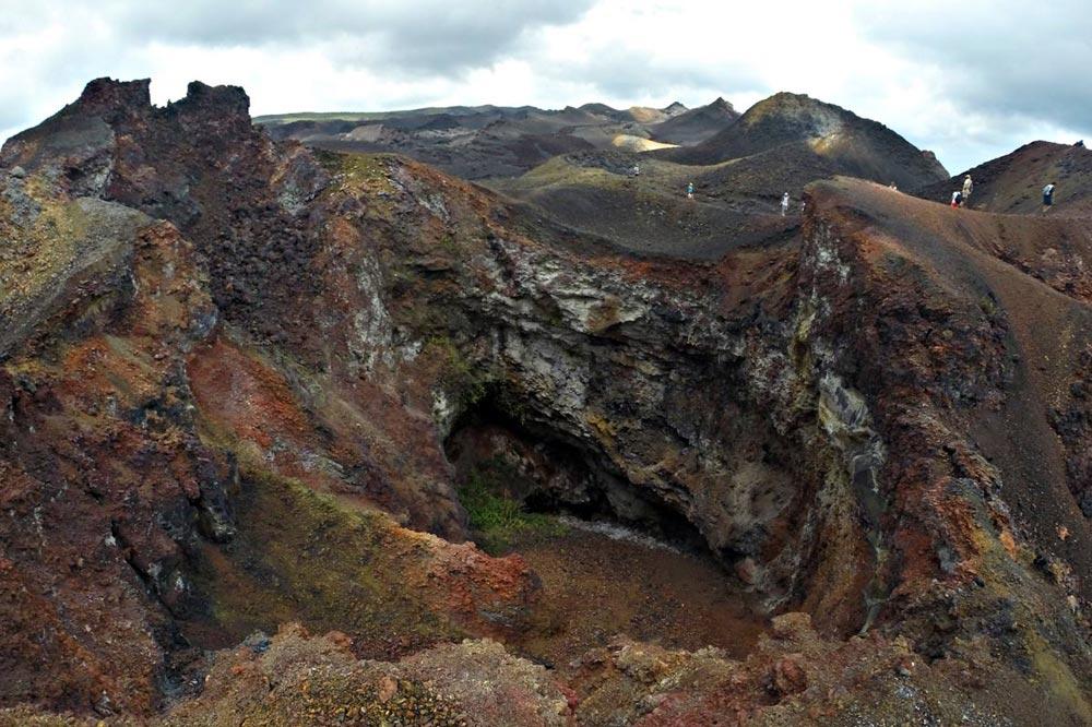 دهانه فعال آتشفشانی