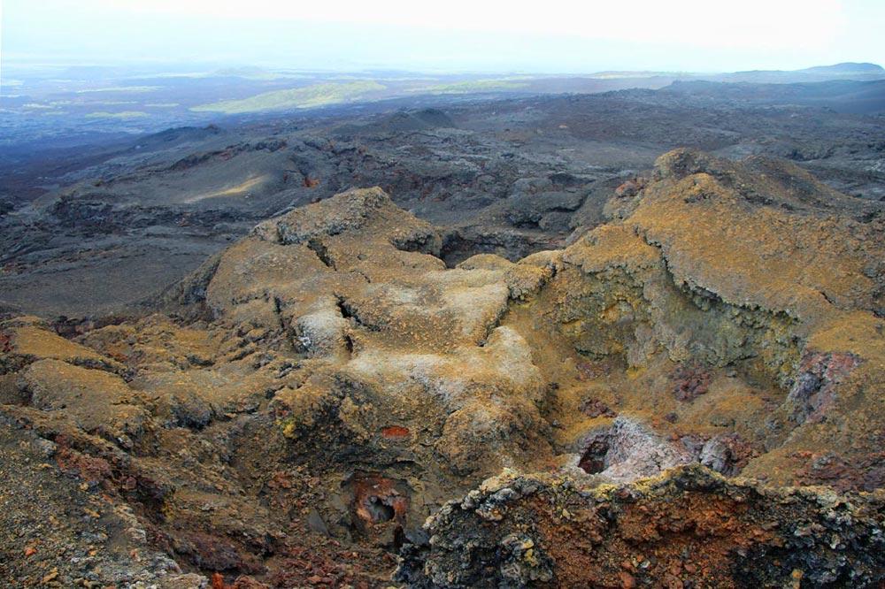 آتشفشان های فعال گالاپاگوس
