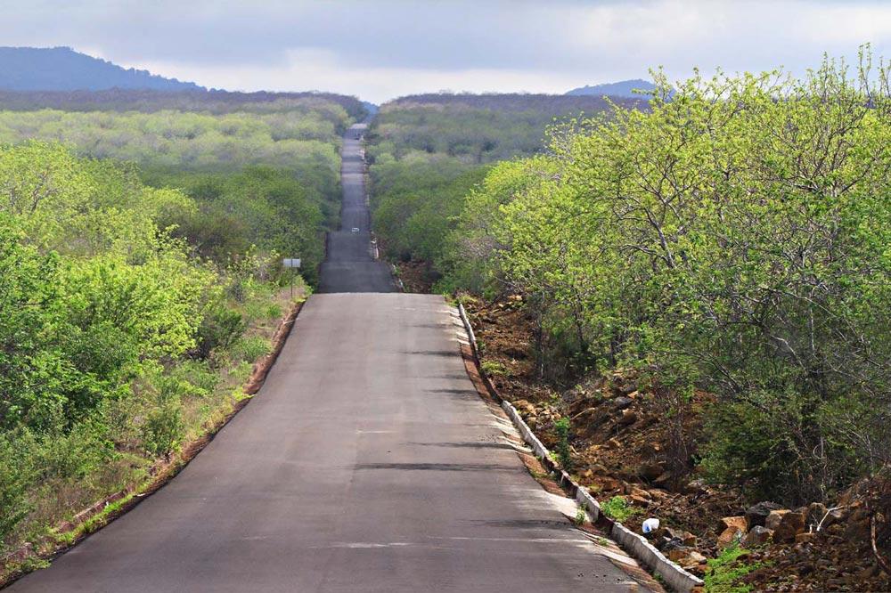 جاده های گالاپاگوس