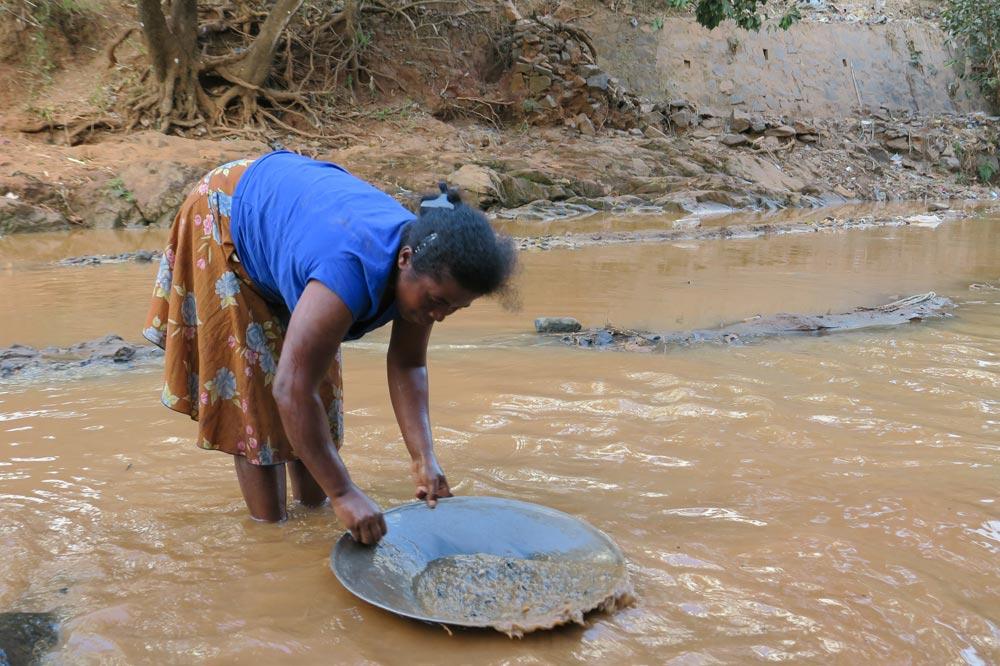 جویندگان طلا ماداگاسکار