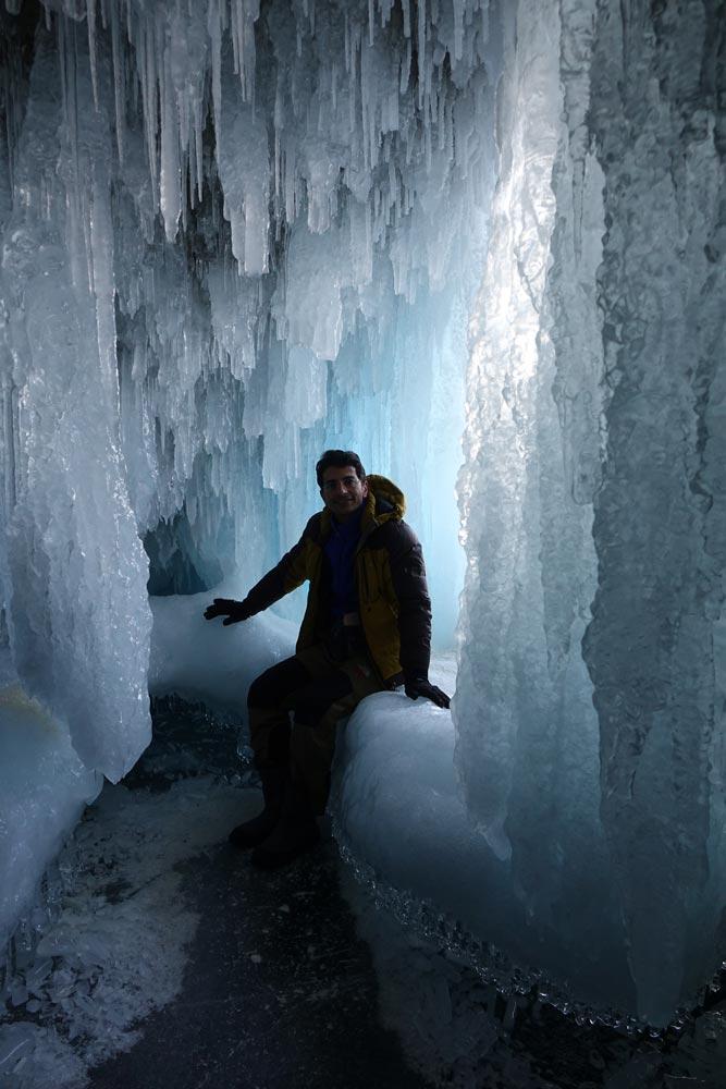 غار یخی در سیبری