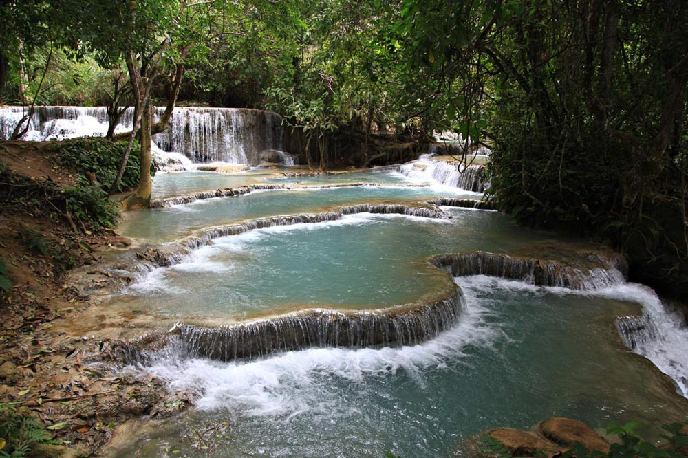 آبشار خوانگ سی - سفرنامه لائوس