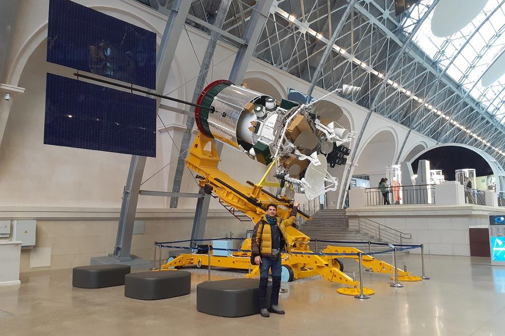 موزه هوافضای مسکو