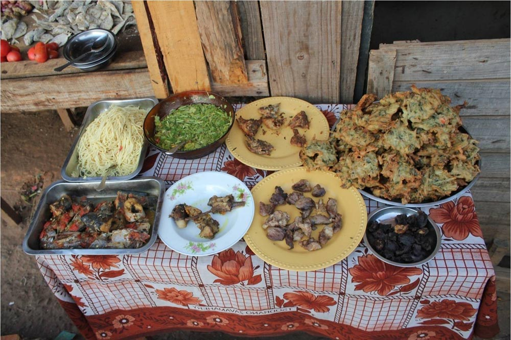 غذاهای ماداگاسکار