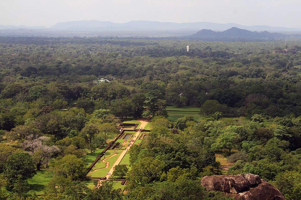سیگیریا - سفرنامه سریلانکا