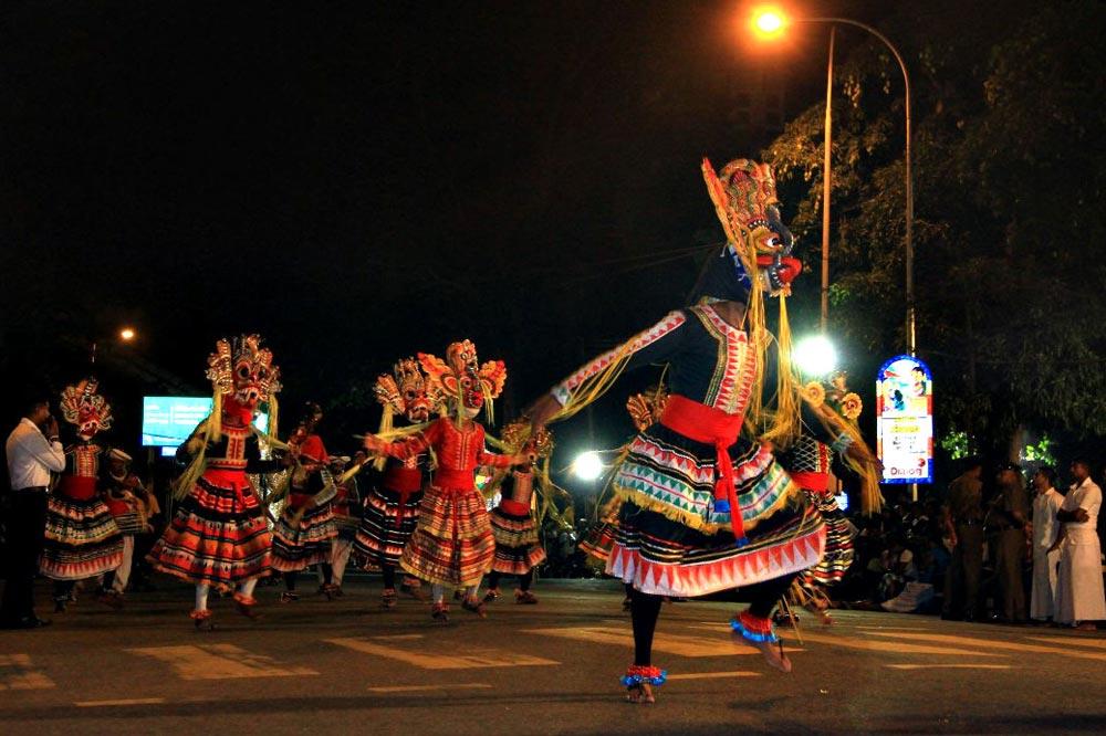 کارناوال سالیانه سریلانکا