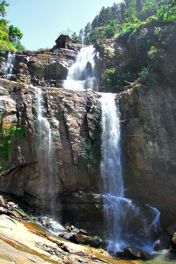 آبشارهای سریلانکا