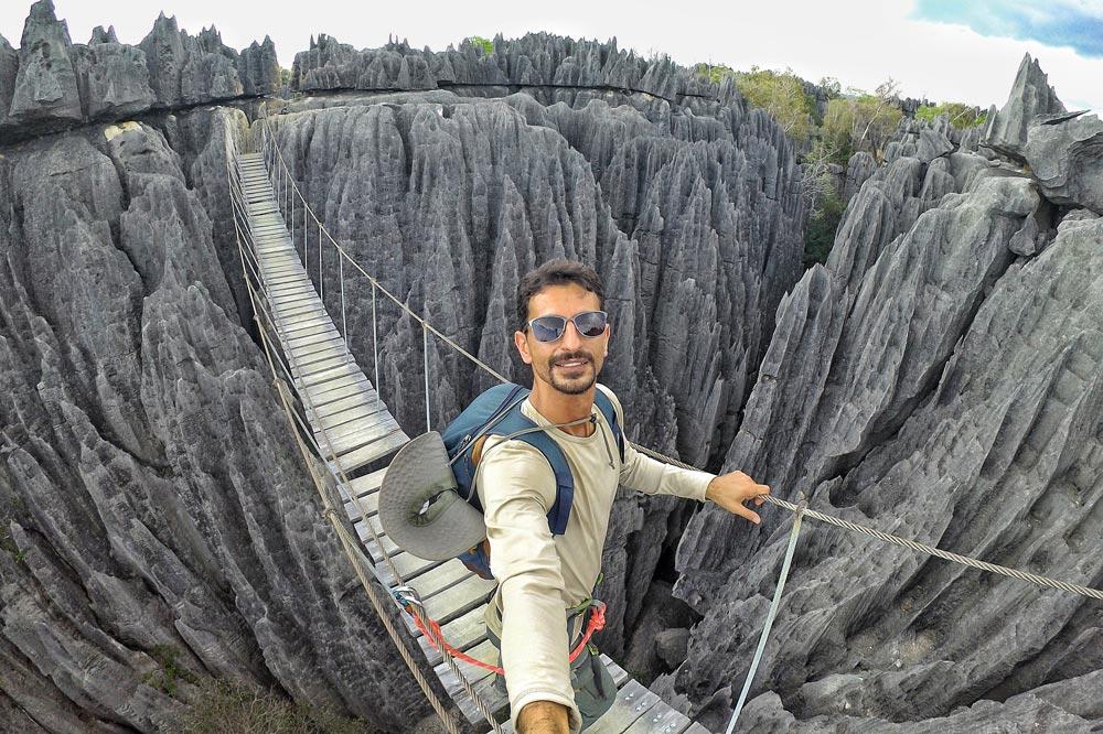 صخره های نوک تیز ماداگاسکار