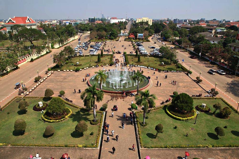 میدان پیروزی در لائوس