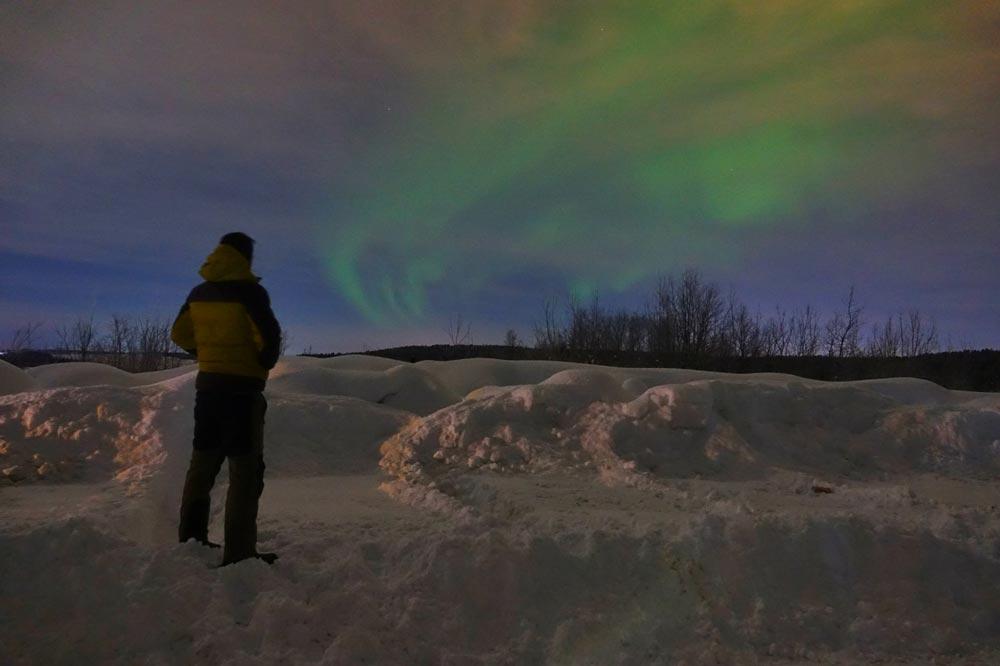 مشاهده شفق قطبی