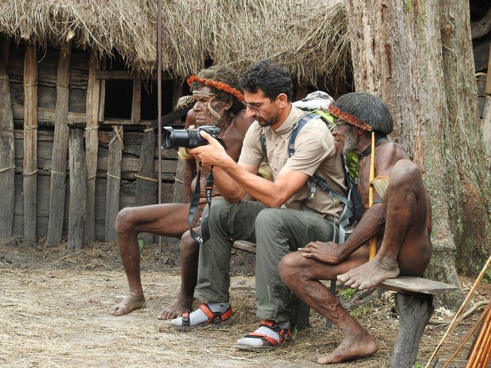 عکاسی از مردم بدوی و بومی